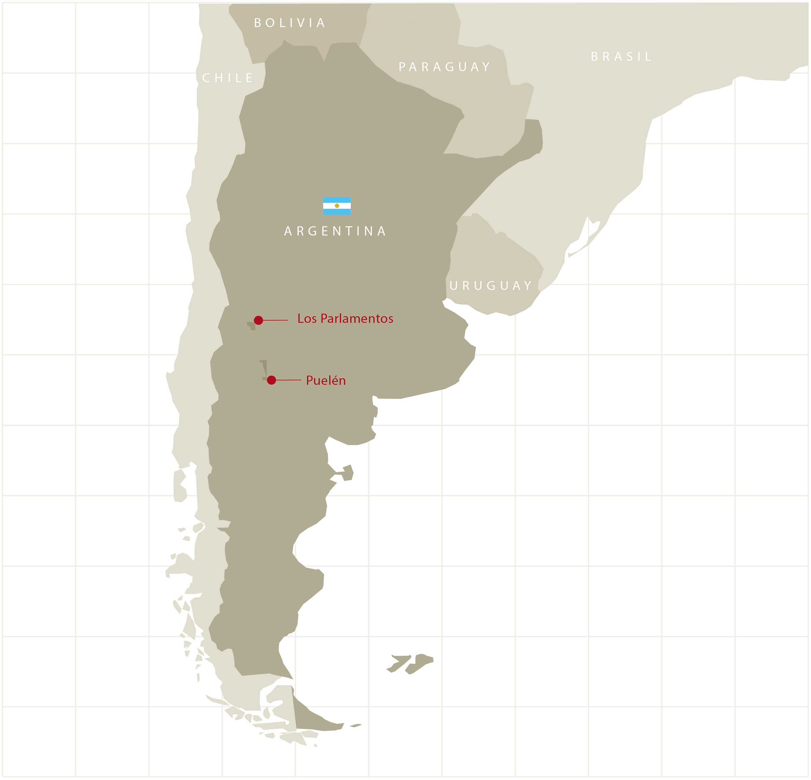 Map Argentina Blocks